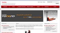 Heftruck-Palletwagens-Toyota